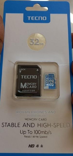 Tecno Memory Card 32gb | Accessories for Mobile Phones & Tablets for sale in Lagos State, Ikeja