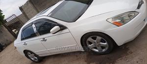 Honda Accord 2005 Sedan LX V6 Automatic White | Cars for sale in Lagos State, Oshodi