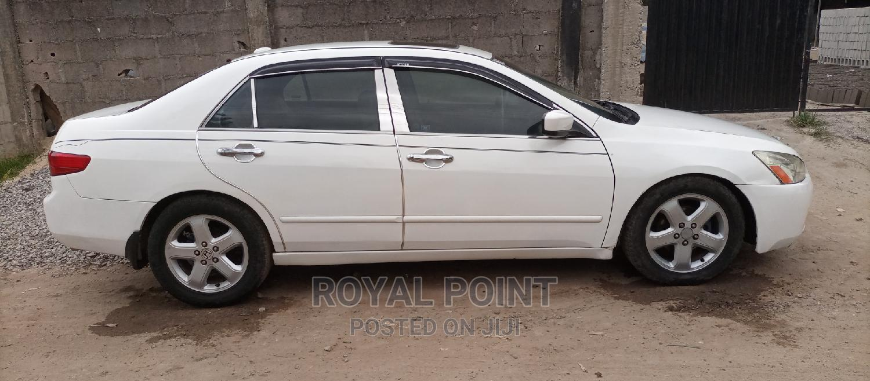 Honda Accord 2005 Sedan LX V6 Automatic White | Cars for sale in Oshodi, Lagos State, Nigeria