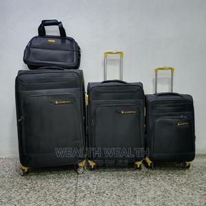 All Round Wheel Leaderpolo Luggage Black | Bags for sale in Lagos State, Ikeja