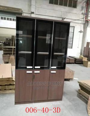 High Quality Office Shelf (Wooden)   Furniture for sale in Lagos State, Ajah