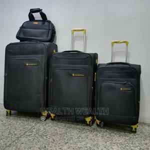 Easy Wheel Leader Polo Trolley Luggage Black Bag | Bags for sale in Lagos State, Ikeja