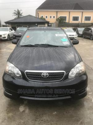 Toyota Corolla 2008 Black | Cars for sale in Lagos State, Isolo