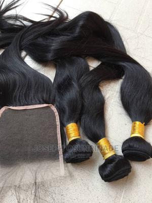 100% Bone Straight Human Hair | Hair Beauty for sale in Edo State, Benin City