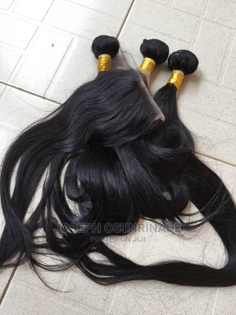 100% Bone Straight Human Hair | Hair Beauty for sale in Benin City, Edo State, Nigeria