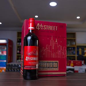 4th Street Sweet Red Wine -75cl (X6 Bottles) | Meals & Drinks for sale in Lagos State, Ikoyi