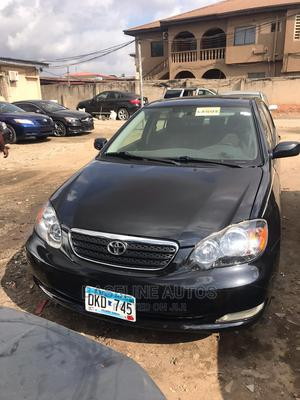 Toyota Corolla 2007 Black   Cars for sale in Lagos State, Isolo