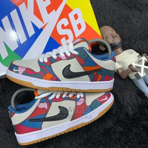 Original Nike Sb Dunk Low Parra Low Sneakers Available   Shoes for sale in Lagos State, Surulere