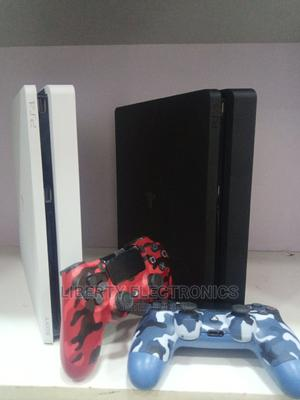 Playstation 4 Slim FIFA 21 and Controller | Video Game Consoles for sale in Imo State, Ehime-Mbano