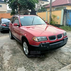 BMW X3 2005 2.5i Red | Cars for sale in Lagos State, Lekki