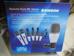 Original 7set SAMSOM Drum Microphone | Audio & Music Equipment for sale in Lagos State, Ikoyi