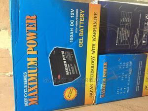 12V 100ah Maximum Power Solar Batteries | Solar Energy for sale in Lagos State, Ikeja