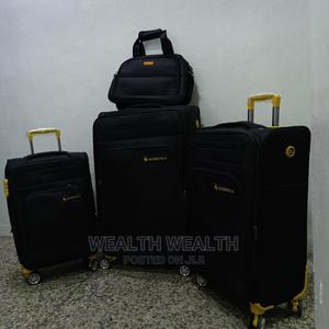 4 Set Leaderpolo Trolley Black Luggage Bag | Bags for sale in Lagos State, Ikeja