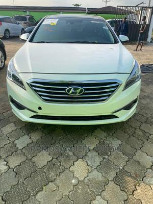 Hyundai Sonata 2015 White | Cars for sale in Lagos State, Ikeja