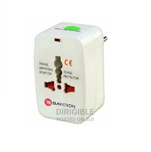 Baykron Universal World Travel Adapter White | Home Appliances for sale in Lagos State, Ikeja