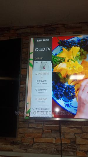 Samsung Qled Tv 49 Inches   TV & DVD Equipment for sale in Lagos State, Ojo