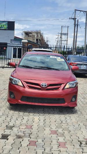 Toyota Corolla 2012 Red   Cars for sale in Lagos State, Lekki