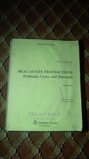 Real Estate Transactions (Third Edition) | Books & Games for sale in Osun State, Ife