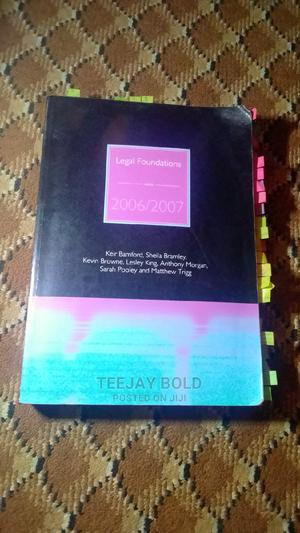 Legal Foundation 2006/2007 | Books & Games for sale in Osun State, Ife