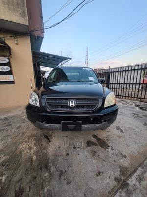 Honda Pilot 2004 EX 4x4 (3.5L 6cyl 5A) Black   Cars for sale in Lagos State, Ilupeju