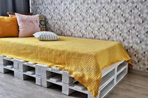 Ajah Imported Wooden Pallets Bed Frame | Furniture for sale in Lagos State, Ajah