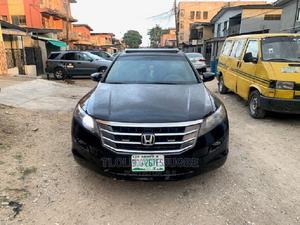 Honda Accord CrossTour 2012 EX-L Black | Cars for sale in Lagos State, Surulere