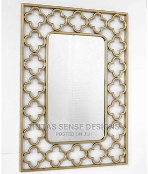 Hermosa Gold Mirror | Home Accessories for sale in Lagos State, Lekki