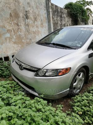 Honda Civic 2007 1.8i-Vtec LXi Automatic Silver   Cars for sale in Lagos State, Ikeja