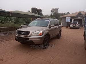 Honda Pilot 2004 EX 4x4 (3.5L 6cyl 5A) Gold | Cars for sale in Ogun State, Abeokuta South