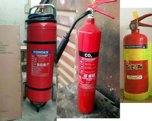 FIRE EXTINGUISHER EQUIPMENT 2kg ABC 6000, 3kg Co2 14,500 | Safetywear & Equipment for sale in Lagos State, Ikeja