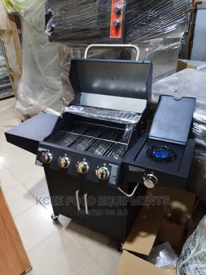 Gas Barbecue Grill 4 Burners | Restaurant & Catering Equipment for sale in Lagos State, Lekki