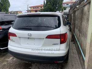 Honda Pilot 2016 White   Cars for sale in Lagos State, Ikeja
