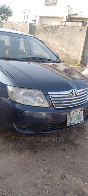 Toyota Corolla 2003 Sedan Blue   Cars for sale in Lagos State, Ikotun/Igando