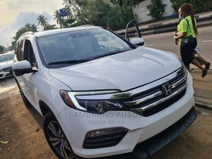 Honda Pilot 2016 White   Cars for sale in Lagos State, Ogba
