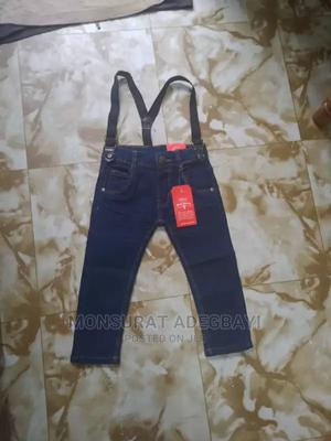 Jeans With Suspender | Children's Clothing for sale in Akwa Ibom State, Eket