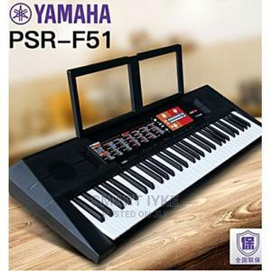 Yamaha Psr - F51 Yamaha Keyboard Piano With Adaptor | Musical Instruments & Gear for sale in Lagos State, Lagos Island (Eko)
