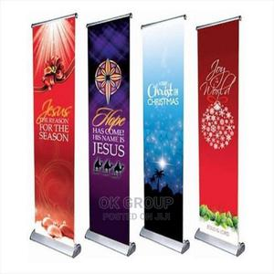 Roll Up Banners Stands /Printing Companies in Lagos Nigeria   Printing Services for sale in Lagos State, Lekki