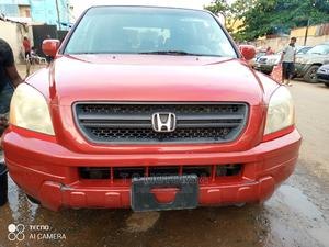 Honda Pilot 2004 EX 4x4 (3.5L 6cyl 5A) Red | Cars for sale in Lagos State, Ikeja