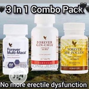 Forever Maca, Bee Pollen, Gin Chia for Premature Ejaculation   Vitamins & Supplements for sale in Lagos State, Ikeja