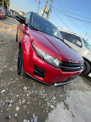 Land Rover Range Rover Evoque 2013 Pure Plus AWD Red | Cars for sale in Lagos State, Surulere