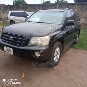Toyota Highlander 2003 Limited V6 AWD Black   Cars for sale in Lagos State, Ikeja
