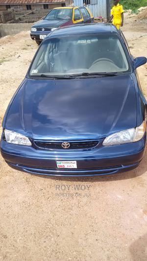 Toyota Corolla 1998 Sedan Automatic Blue   Cars for sale in Kaduna State, Kaduna / Kaduna State