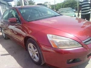 Honda Accord 2005 Sedan LX Automatic Red   Cars for sale in Abuja (FCT) State, Katampe