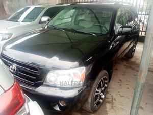 Toyota Highlander 2005 V6 Black | Cars for sale in Lagos State, Isolo