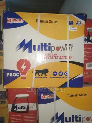 12V 220ah Muiltipower Solar Tubular Batteries | Solar Energy for sale in Lagos State, Ikeja