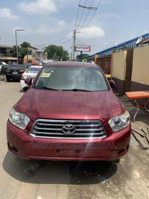 Toyota Highlander 2009 Limited Red | Cars for sale in Lagos State, Surulere
