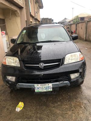 Acura MDX 2002 3.5L 4x4 Black   Cars for sale in Lagos State, Alimosho