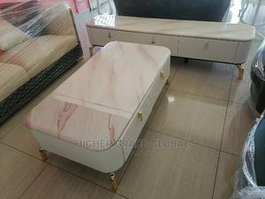 Classic Set of TV Stand and Matching Table | Furniture for sale in Lagos State, Lekki