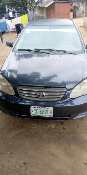 Toyota Corolla 2004 Blue | Cars for sale in Rivers State, Obio-Akpor