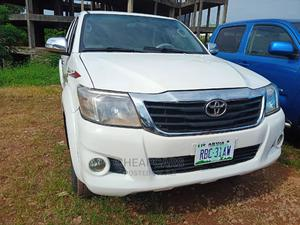 Toyota Hilux 2013 SR White | Cars for sale in Abuja (FCT) State, Central Business Dis